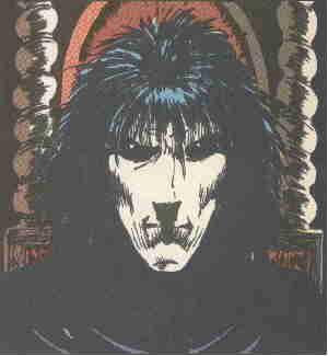 The Sandman. Artist: Sam Kieth.