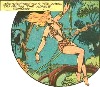 Sheena, from Jumbo Comics #82