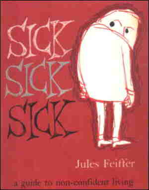 Cover of paperback collection. Artist: Jules Feiffer.
