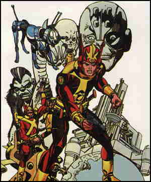 From a paperback reprint cover. Artist: Gil Kane.