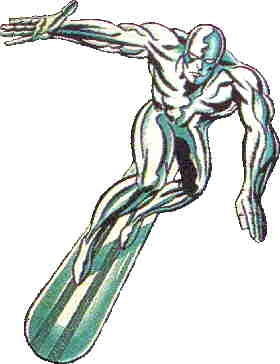 The Silver Surfer. Artist: Jack Kirby.