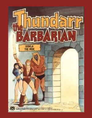 Thundarr, Ariel and Ookla, from a proposed but never produced toy line.