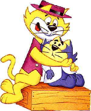Top Cat and Benny the Ball.
