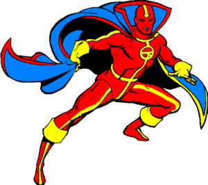 The Red Tornado.