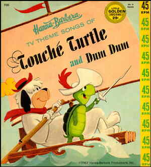 Cover of a children's record.