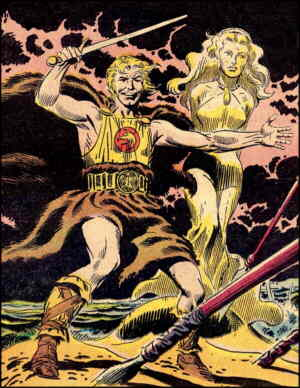 Jon the Viking Prince. Artist: Joe Kubert.