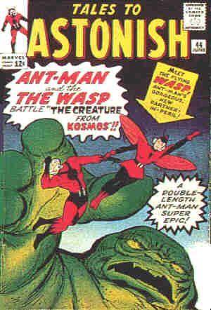 First appearance of The Wasp. Artists: Jack Kirby and Don Heck.