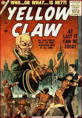 cover of the first issue. Artist: Joe Maneely.